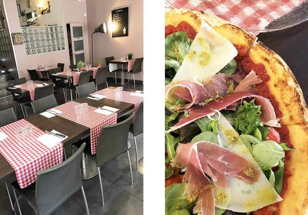 Sur une Nappes à Carreaux - Restaurant Italien Marseille